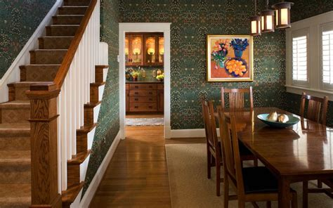 arts and crafts style interior design home