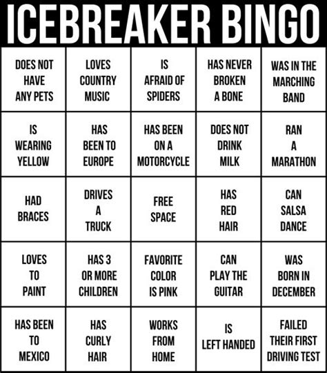 icebreaker template s retreat themes and past tense on