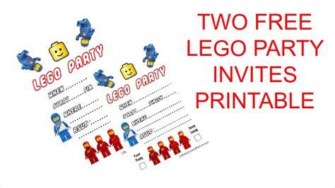 lego birthday invitations free free printable lego birthday invitations u me and