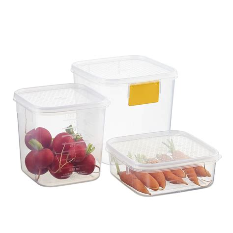 food holder tellfresh square food storage the container store
