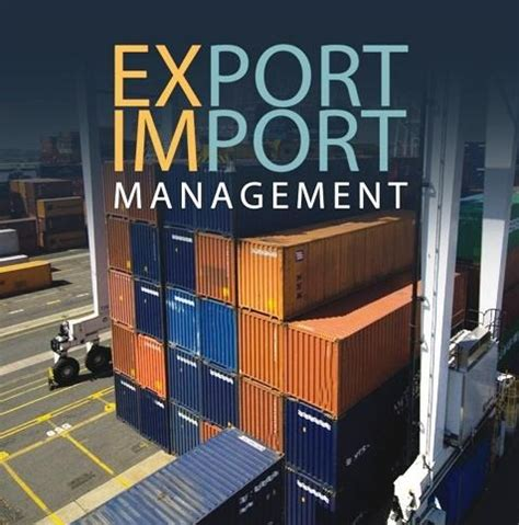 Mba In Export Import Management In Tamilnadu by Ied Odisha