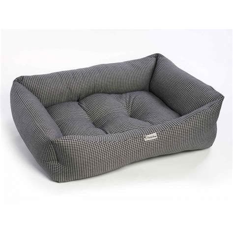 black and white dog bed chilli dog black and white square sofa dog bed