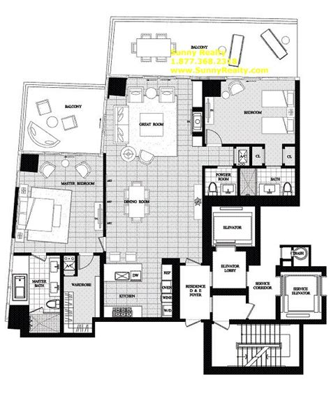 st regis bal harbour floor plans st regis residences bangkok floor plan thefloors co