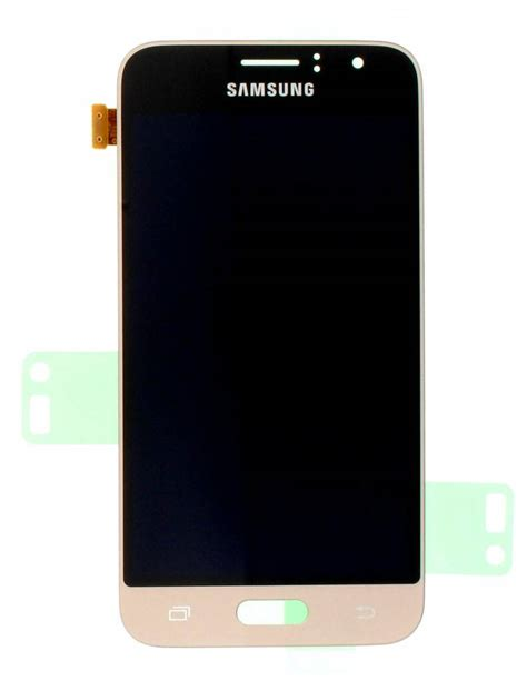 Samsung Galaxy J1 samsung j120f galaxy j1 2016 lcd display module gold gh97 18224b parts4gsm
