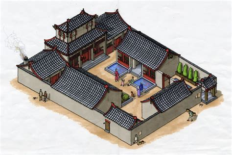 layout of traditional chinese house traditional chinese houses courtyard www pixshark com
