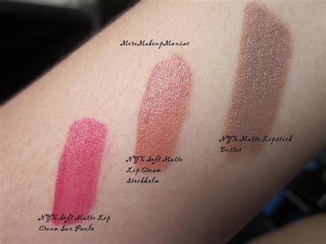 Lipstik Nyx Stockholm haul nyx soft matte lip creams and nyx matte lipstick