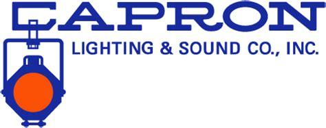 Lighting Companies Capron Lighting Sound Co Inc