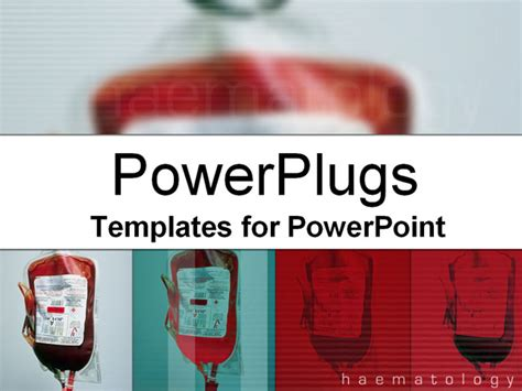 templates powerpoint blood blood bags powerpoint template background of blood bags