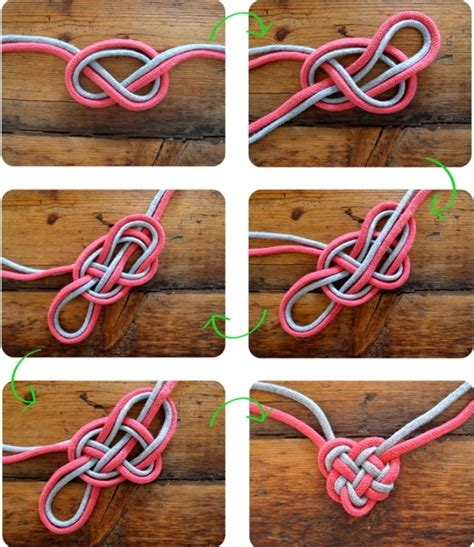 Two String Knots - diy celtic knot easy to make and so trusper