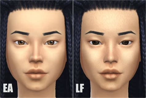sims 4 default skin replacement default face skin v2 at lightfire simblr 187 sims 4 updates