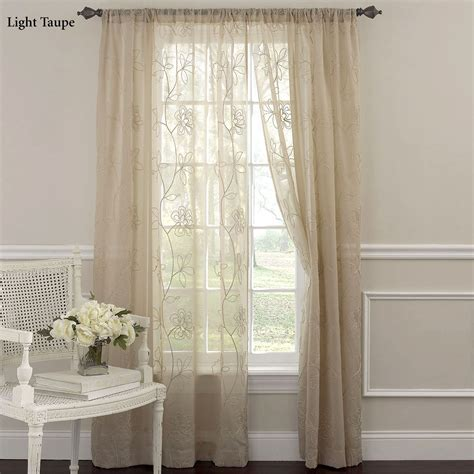 laura ashley frosting curtains laura ashley frosting embroidered sheer curtain panels