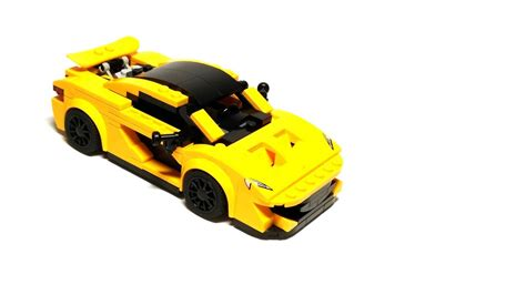 lego mclaren lego mclaren p1 moc version 1 2 with