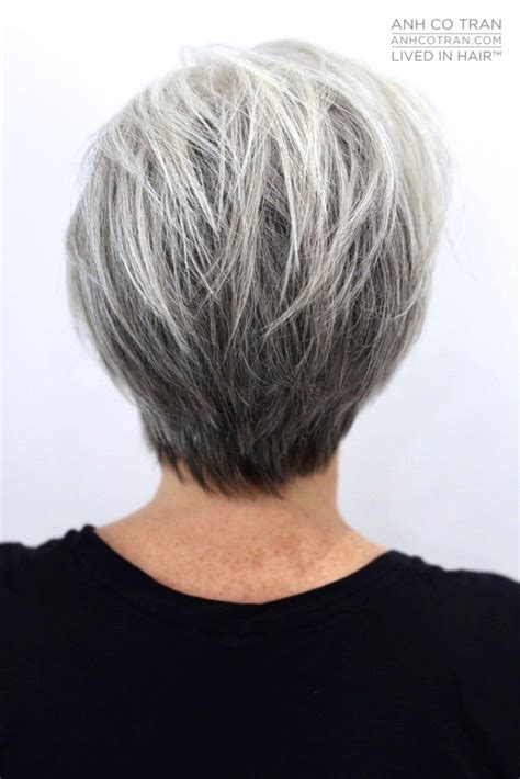 fine graycoming in of short bob hairstyles for 70 yr old 730 best beauty in gray white or silver images on