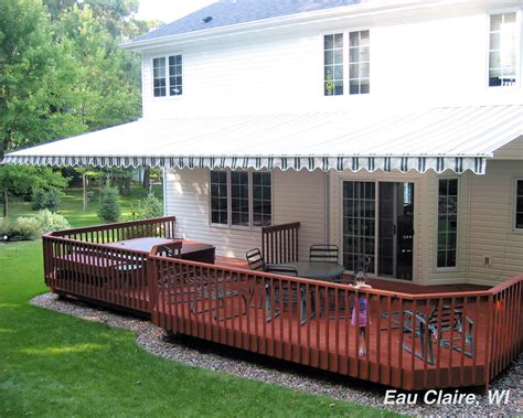 may awning retractable awnings outdoor living spaces eau claire wi