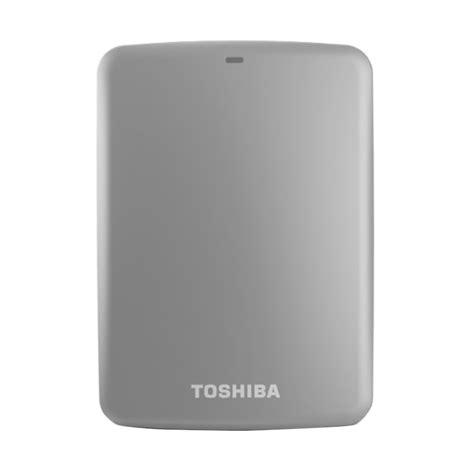 Toshiba Canvio Basic 3 0 Harddisk Eksternal 2 Tb Black jual promo scb toshiba canvio connect portable hdtc720xs3c1 silver disk eksternal 2 tb