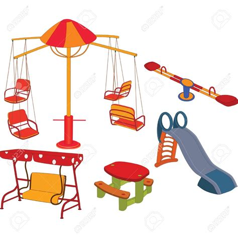 swing set cartoon clip art park playground clipart panda free clipart