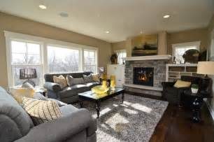 Gray furniture what color wallsi like how you mix the beige walls with