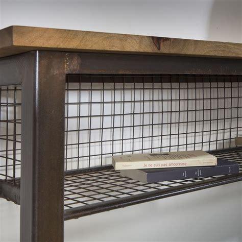 Bureau Style Industriel En Métal Et Bois by 17 Meilleures Images 224 Propos De Meuble M 233 Tal Et Bois