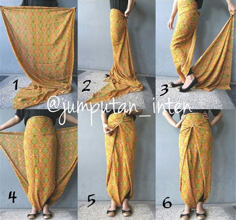 Abaya Tapeta Bordir Rok Lilit jumputan inten cara pake batik kebaya clothes and batik dress
