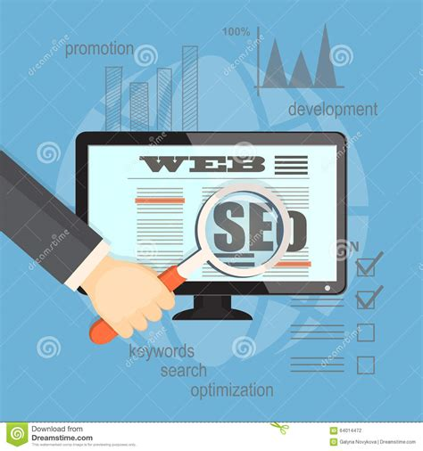 Seo Technology 5 by Concept Of Seo Technology Stock Vector Image 64014472