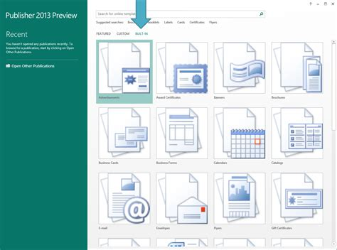 my publisher templates a fresh start with templates office blogs