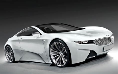 bmw sport car white