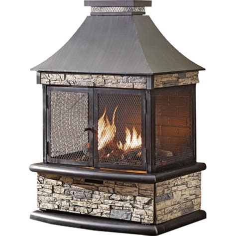 shinerich propane outdoor fireplace 24 000 btu model