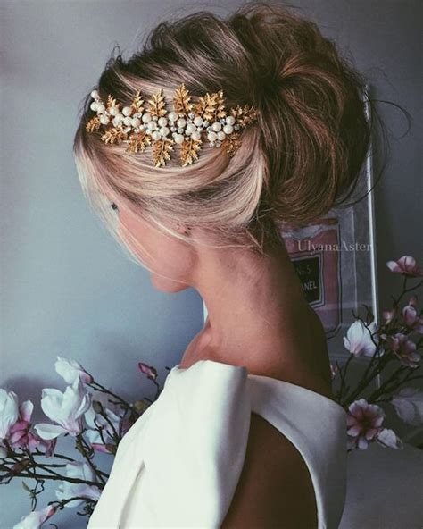 Wedding Updo Hairstyle Magazine by Beautiful Bridal Updos For Your Summer Wedding The
