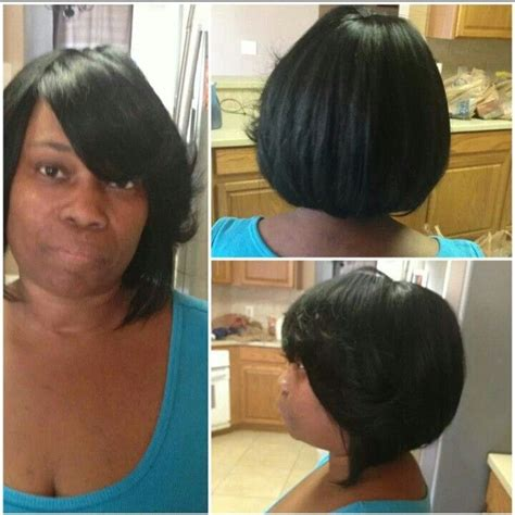 cap hair cutting images sew in with mesh cap cut curled hair styles