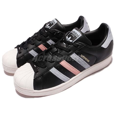 adidas originals superstar w black leather classic shoes sneakers bb2141 ebay