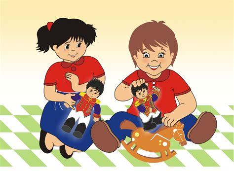 fotos o imagenes de niños jugando paisaje con ni 241 os jugando imagui