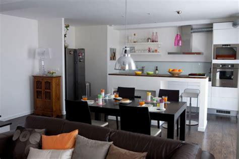 salon ouvert sur cuisine beau cuisines ouvertes sur salon photos et cuisine ouverte