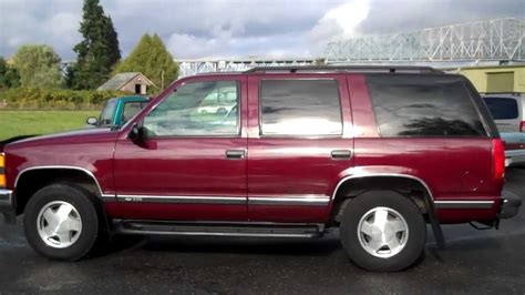 Chevy Tahoe 98 by 1998 Chevy Tahoe Lt 4x4 Sold