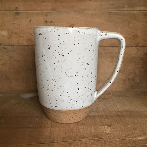 handmade ceramic mug coffee mug brownstone mug