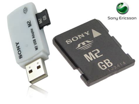 Memory Card Hp Sony Ericsson digitalsonline sony ericsson p1i sony 1gb memory stick micro m2 met usb card reader ms a1gu