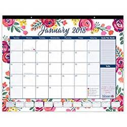 Calendar 2018 Lazada Bloom Daily Planners 2018 Calendar Year Desk