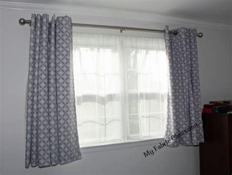 curtains finally closing my fabric obsession basic no hem curtain drape tutorial