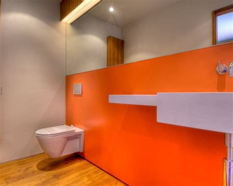 green and orange bathroom bathroom dark brown with green and orange design pictures