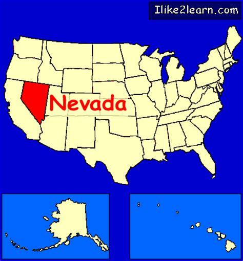 us map states nevada nevada