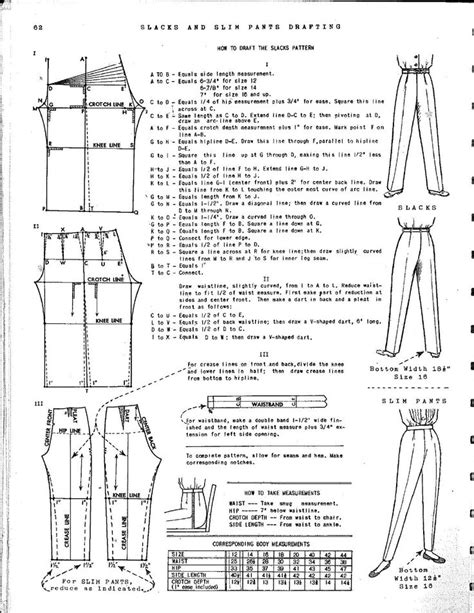 pattern drafting jeans 17 best images about pants alteration construction and