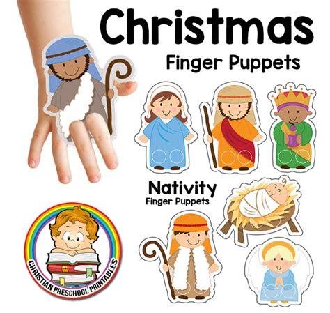 printable christmas paper finger puppets printable christian christmas activity sheets 1000