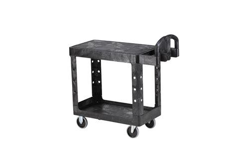 Rubbermaid Flat Shelf Utility Cart by Rubbermaid 4505 Flat Shelf Utility Cart