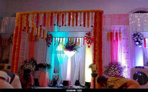 Wedding & Reception decoration at NT Mahal, Pondicherry