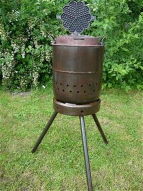 feuerschale zum grillen unikat holzofen zum grillen backen und kochen
