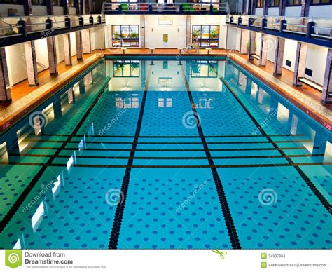 big indoor swimming pool stock images image 34937984