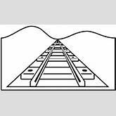Railroad Outline Clip Art at Clker.com - vector clip art online ...
