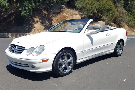 convertible cars mercedes 2005 mercedes clk320 convertible 198279