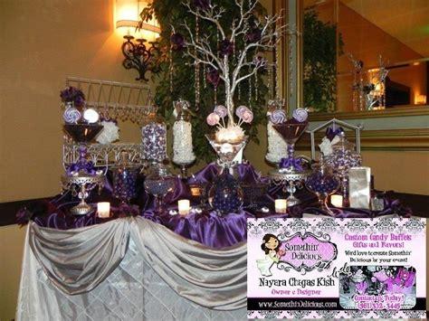 Plum Candy Buffet Google Search Wedding Pinterest Purple Wedding Buffet