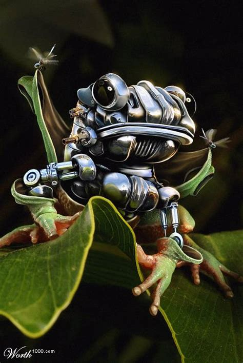 tutorial robot photoshop cs3 create a robotic frog photoshop tutorial