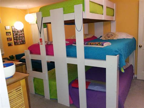 5 beds in one room the benefits of room sharing messymom